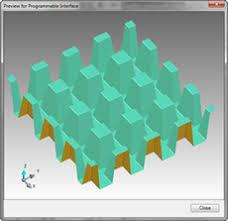 3D grating